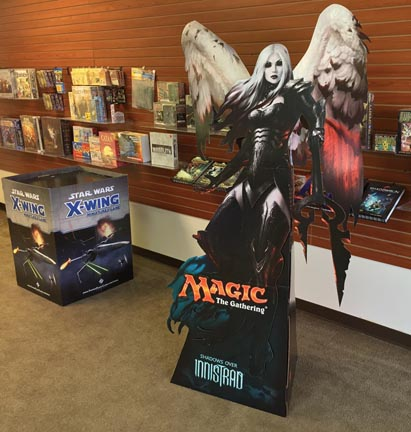 Wizards of the Coast Standee