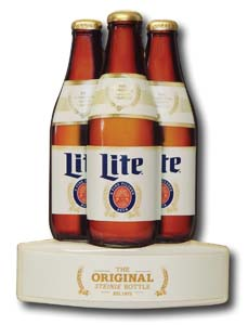 Miller Lite Cooler Door Glorifier