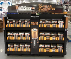 NEW DIMENSIONS DURACELL BRONZE
