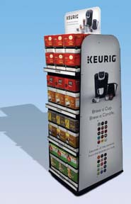 NEW DIMENSIONS RESEARCH-OMA-KEURIG QUARTER PALLET
