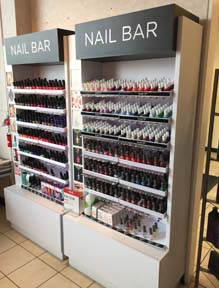 JC Penney Nail Polish Bar