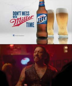 Miller Lite Runs 'Don't Mess With Miller Time Campaign