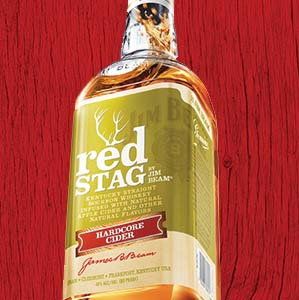 Jim Beam Launches Red Stag Hardcore Cider