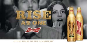 Budweiser Unveils 'Rise As One' World Cup Marketing Campaign