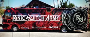 Panic Switch Army And Chase Authentics Partner To Debut NASCAR Trackside Mobile Retail Store