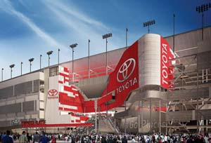 Toyota Partners With ISC At Daytona Speedway
