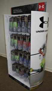 Under Armour Performance Sock Display
