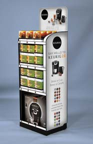 NEW DIMENSIONS RESEARCH-KEURIG MASS ROLLING CART