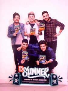 paStandee-One Direction 2014