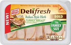 Oscar Mayer Launches Deli Fresh BOLD