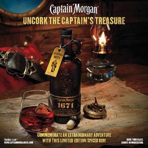 Captain Morgan Launches 1671 Commemorative Blend