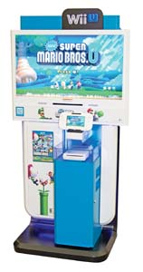 Nintendo Features Wii U™  Interactive Retail Display
