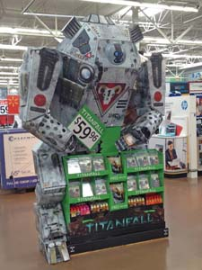 TITANFALL Game Display Features 3-D Robot