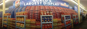 PepsiCo & Lowe's Set World Record For Largest Display