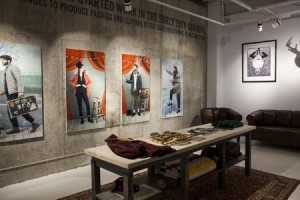 PAWoolrich Store Soho_Downstairs