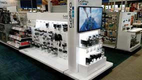 Best Buy GoPro End Cap