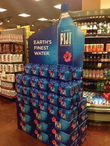 FIJI Water Displays Support 'Untouched' Campaign