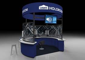 Lowe's Launches Next Generation Holoroom