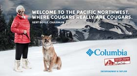 Columbia Sportswear Unveils 'Tested Tough'