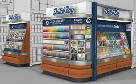 Dutch Boy Paints Refreshes Shoppers' Experience