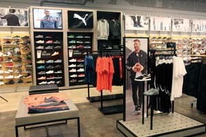 Finish Line Introduces PUMA In-Store Experience