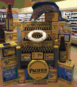 Realistic Dock Display Created For Pacifico Beer
