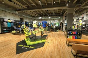Nike Opens New West Coast Flagship Store