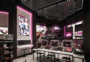 NYX Cosmetics Opens First Digitally Enabled Retail Stores