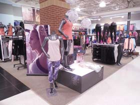 Carrie Underwood's New Calia Athletic Attire On Display In Dick's Sporting Goods Stores