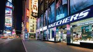 SKECHERS Opens Flagship Store In Times Square