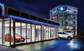 Carvana Opens Automated Car Vending Machine
