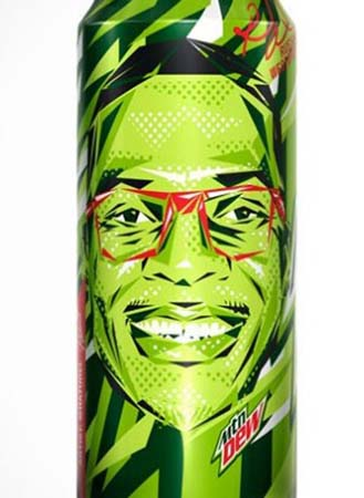 Mountain Dew & R. Westbrook Collaborate On Collectible Can
