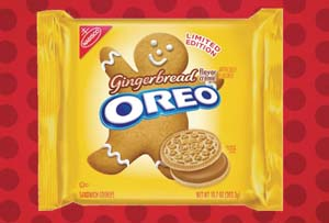 Exclusive OREO With Gingerbread Flavor Crème Cookie Available At Target For Holidays