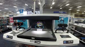 Altec Lansing Holographic Displays Featured At Best Buy