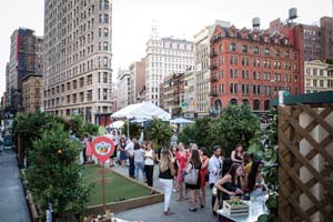 "Sanpellegrino Unveils The Life Deliziosa™"" Campaign With Pop-Up Citrus Grove In NYC"