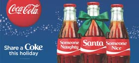 'Share A Coke' Holiday Campaign Returns