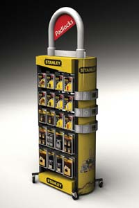 MARKETINGIMPACT-STANLEY-PADLOCK_FLOORSTAND