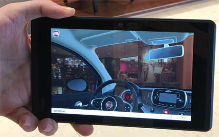 Fiat Chrysler Showcases Augmented Reality Sales Application