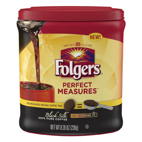 Folgers Launches Perfect Measures Coffee Tabs