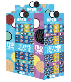 Oreo Brand Displays Promote New Flavors