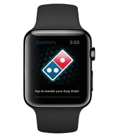 Domino's Adds Apple Watch As Newest Way To Order