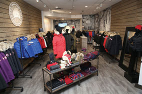 Canada Goose Opens Pop Up Store