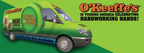 O'Keeffe's Launches National Sampling Tour
