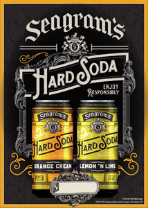 Seagram's Introduces  Hard Soda In Variety Of Delicious Flavors
