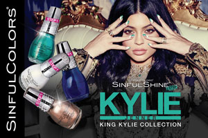 SinfulColors Promotes Kylie Jenner Curated Collaborations