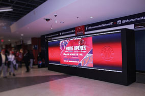SNA Installs 1.25 mm LED Digital Video Wall At Verizon Center