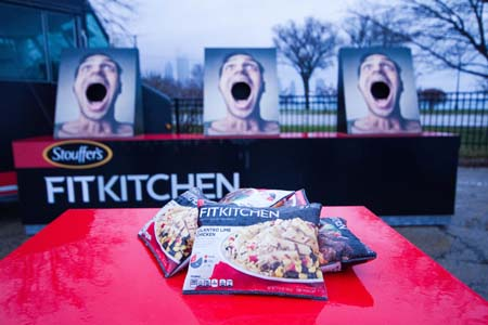 Stouffer's Fit Kitchen Brings Meals To Lucky Tailgaters
