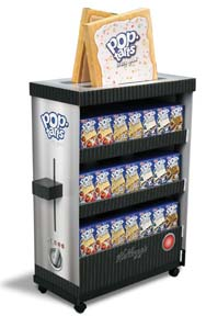 Kellogg's Pop Tarts Toaster Display