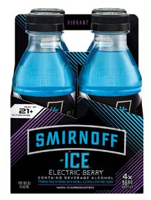 Smirnoff Launches ICE Electric Flavors Line