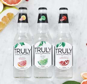 Truly Spiked & Sparkling Is Launched